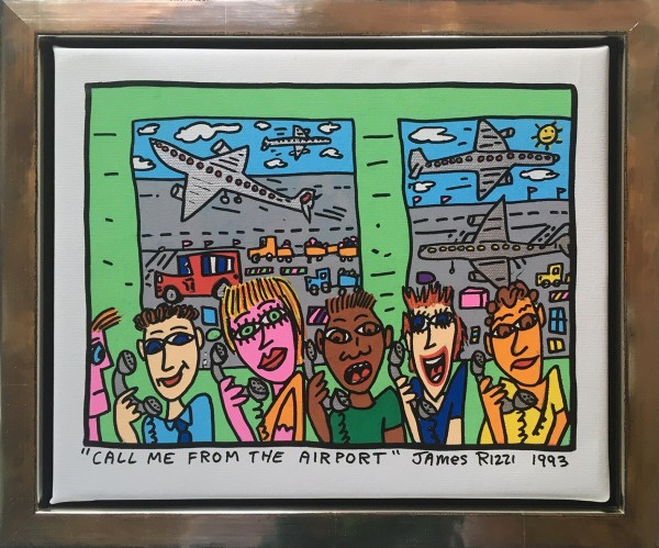 CALL ME FROM THE AIRPORT - UNIKAT (1993) - JAMES RIZZI