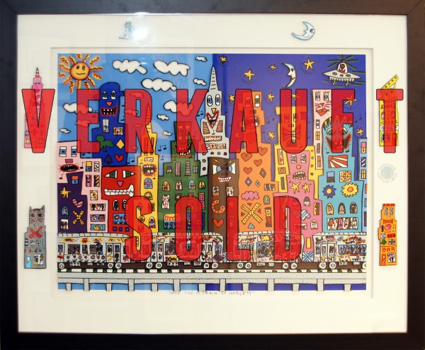TAKE THE A TRAIN TO HARLEM (1989) AP Auflage - JAMES RIZZI