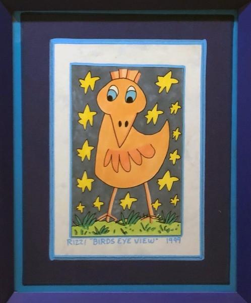 BIRDS EYE VIEW - UNIKAT (1999) - JAMES RIZZI