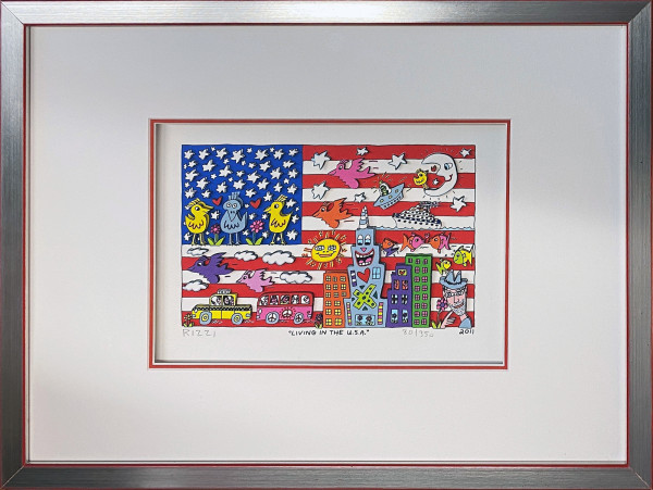 LIVING IN THE U.S.A. (2011) - JAMES RIZZI