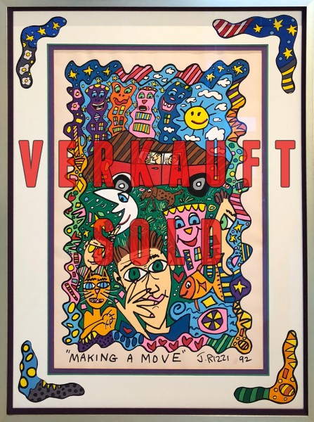 MAKING A MOVE (1992) - UNIKAT - JAMES RIZZI