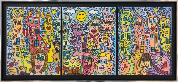 IT'S LOTS OF FUN TO LIVE IN THE CITY - UNIKAT - TRIPTYCHON (2005) - JAMES RIZZI