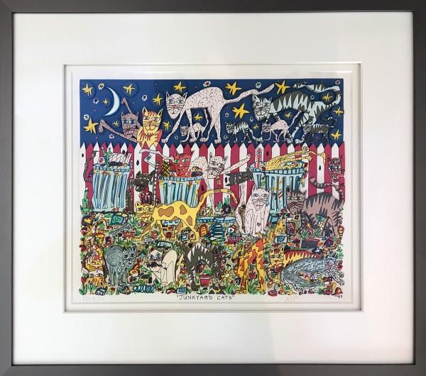 JUNKYARD CATS (1989) - JAMES RIZZI