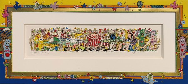 ALL YOU NEED IS LOVE; FOOD; MONEY...(1995) - JAMES RIZZI