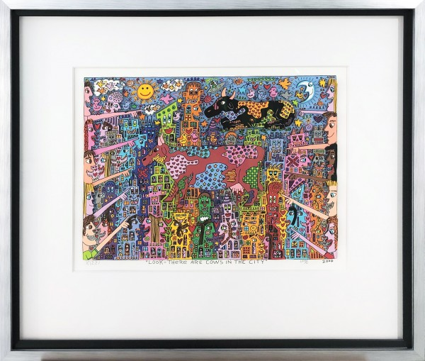 LOOK THERE ARE COWS IN THE CITY (2000) - JAMES RIZZI