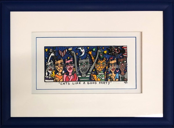 CATS LIKE A GOOD PARTY (1995) - JAMES RIZZI