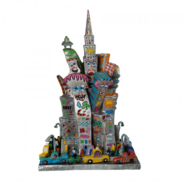 THE CITY IS MY CASTLE (1989) - JAMES RIZZI
