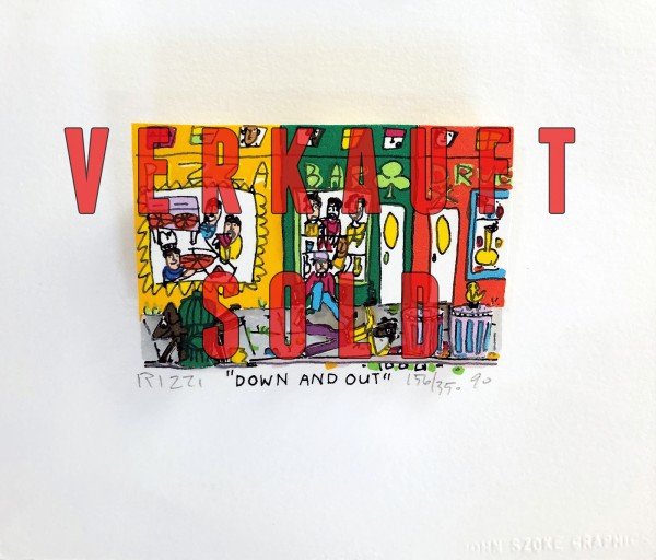 DOWN AND OUT (1990) - JAMES RIZZI