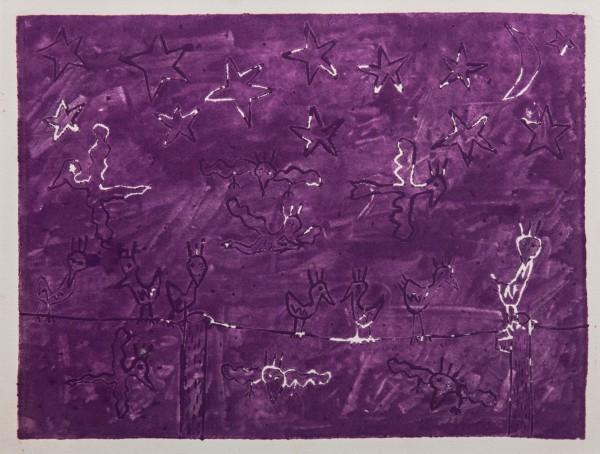 NIGHT BIRDS PURPLE (1980) - JAMES RIZZI