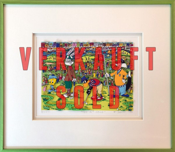 THE 18th HOLE (1993) 23/350 - JAMES RIZZI