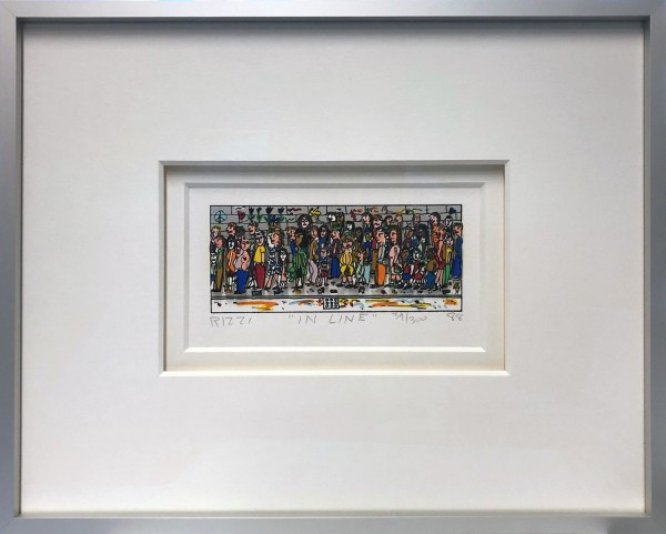 IN LINE (1988) - JAMES RIZZI