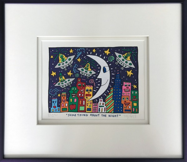 SOMETHING ABOUT THE NIGHT (1992) - JAMES RIZZI + BUCH