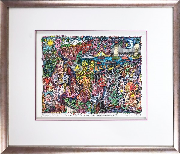 THE PAST IS HISTORY, TOMORROW IS A MYSTERY, TODAY IS A GIFT (2007) - JAMES RIZZI