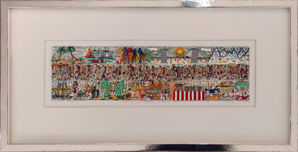 RUNNING THRU AMERICA (1987) - JAMES RIZZI