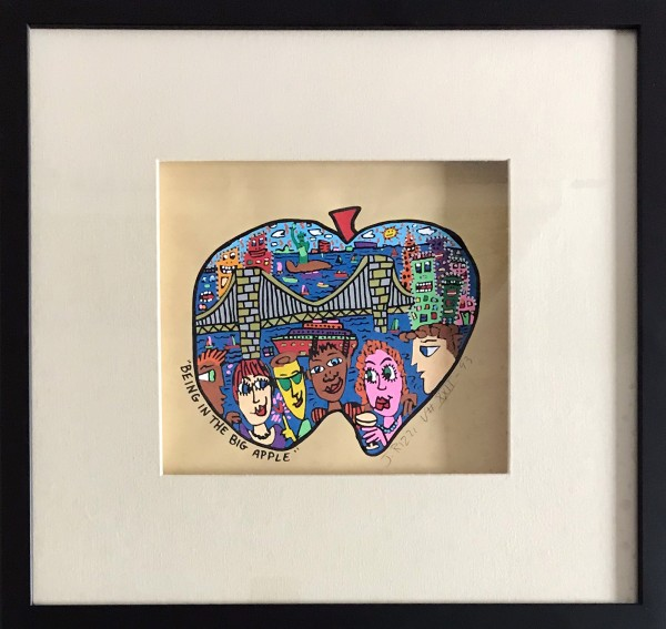 BEING IN THE BIG APPLE (1993) - JAMES RIZZI