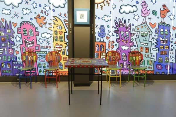 TABLE & CHAIRS (2001) - JAMES RIZZI