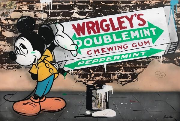 MICKEY WRIGLEY'S - CANVAS