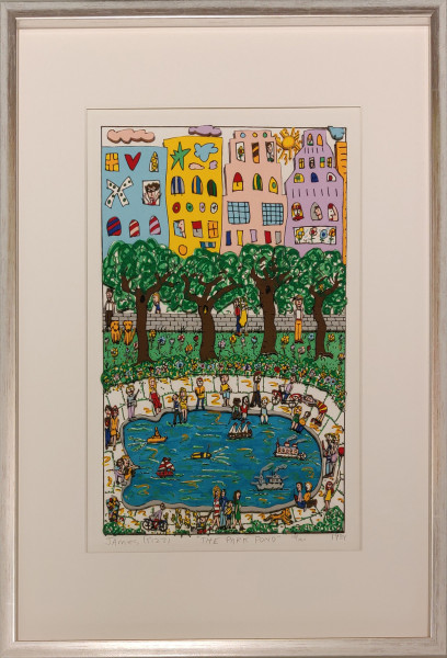 THE PARK POND (1984) - JAMES RIZZI