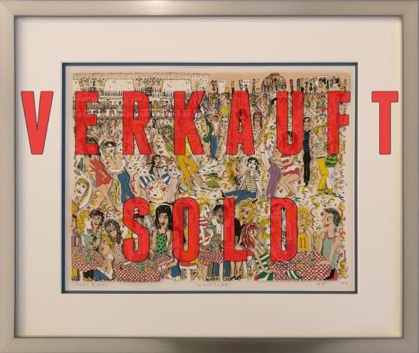 NIGHTCLUB (1983) - JAMES RIZZI inkl. Rahmen