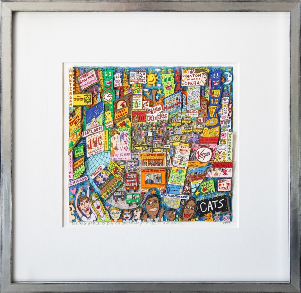 THE BIG APPLE IS BIG ON BROADWAY (1999) - JAMES RIZZI