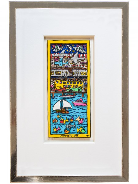 MOVING ON (1994) - JAMES RIZZI