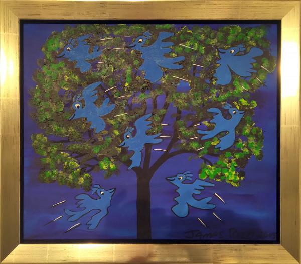BLUE BIRDS FLY (2005) UNIKAT - JAMES RIZZI