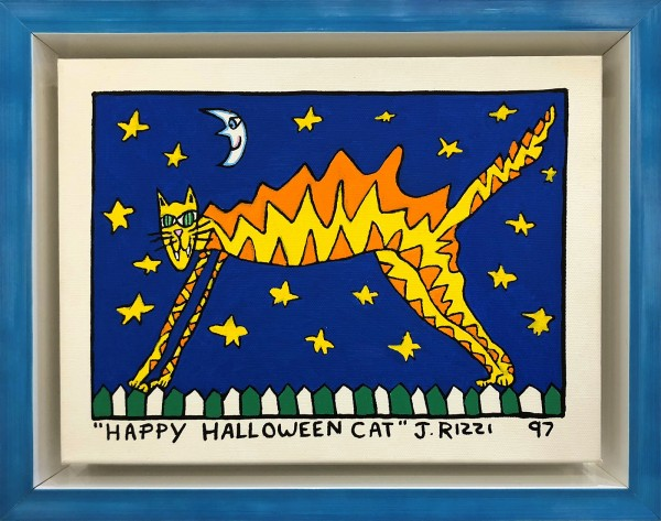 HAPPY HALLOWEEN CAT - UNIKAT (1994) - JAMES RIZZI