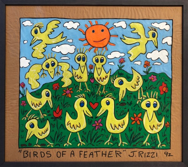 BIRDS OF A FEATHER - JAMES RIZZI - UNIKAT (1992)