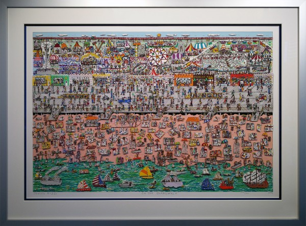 ON THE BOARDWALK (1985) - JAMES RIZZI