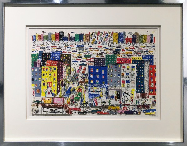 IT'S SO HARD TO BE A SAINT WHEN YOU'RE LIVING IN THE CITY (1977) - JAMES RIZZI