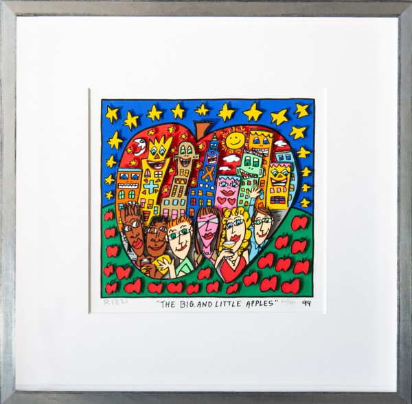 THE BIG, AND LITTLE APPLES (1994) - JAMES RIZZI