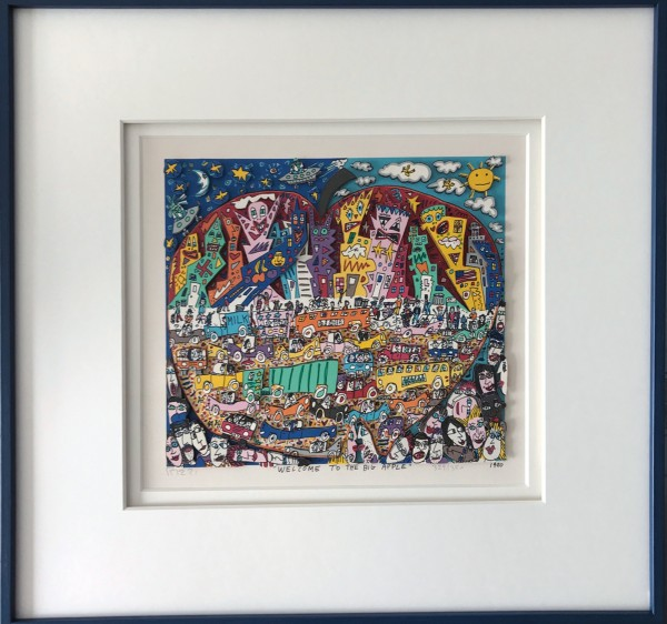 WELCOME TO THE BIG APPLE (1990) - JAMES RIZZI