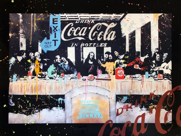 LAST SUPPER - FINE ART PRINT - MICHEL FRIESS