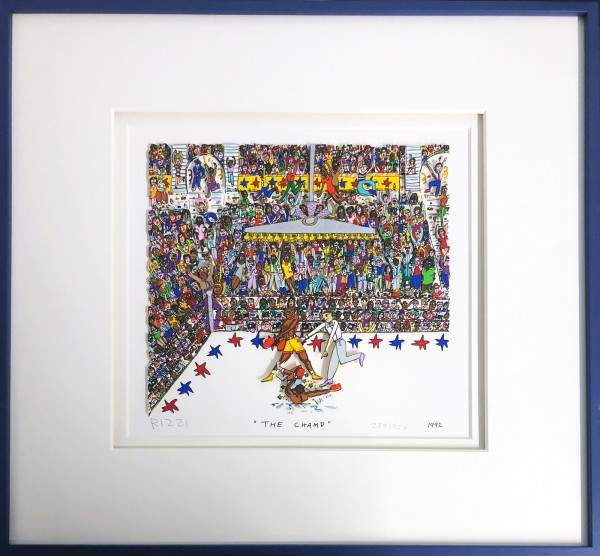 THE CHAMP (1992) - JAMES RIZZI