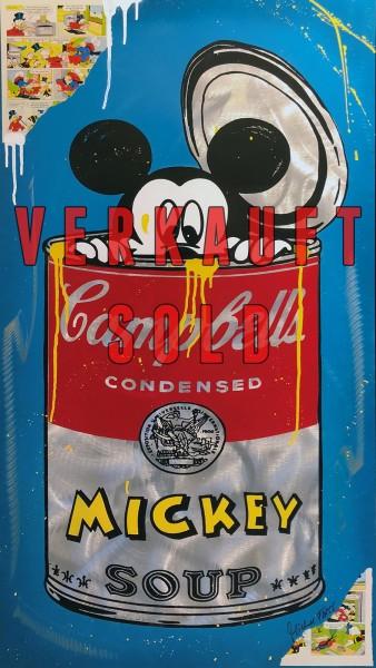 MICKEY SOUP BLUE - MICHEL FRIESS