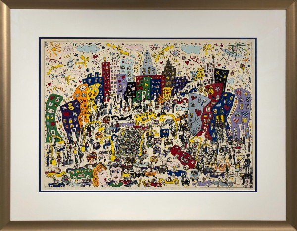 EASTSIDE, WESTSIDE, UPTOWN, AND DOWN (1978) - FLATPRINT - JAMES RIZZI