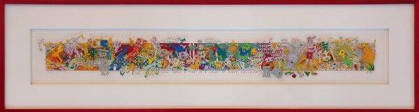 ONCE UPON A TIME IN THE LAND OF MAKE BELIEVE (1992) - JAMES RIZZI - PERSÖNLICHE WIDMUNG