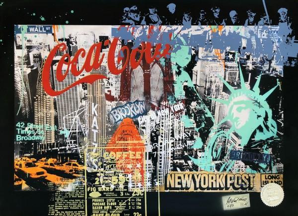 NY COLLAGE - FINE ART PRINT - MICHEL FRIESS