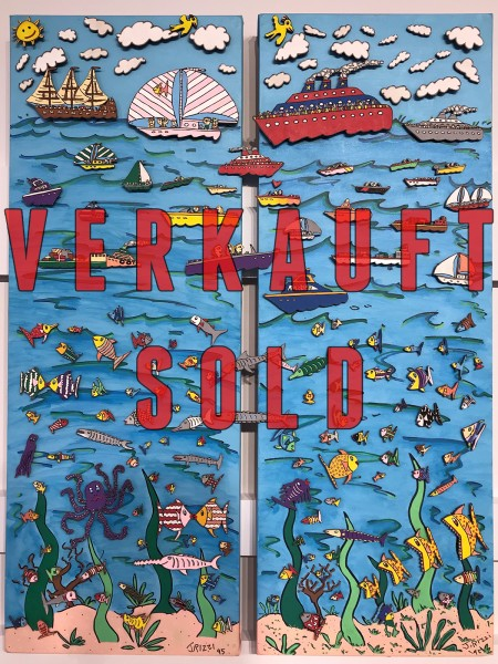 LIFE ON AND IN WATER (1995) - MAGNET - JAMES RIZZI