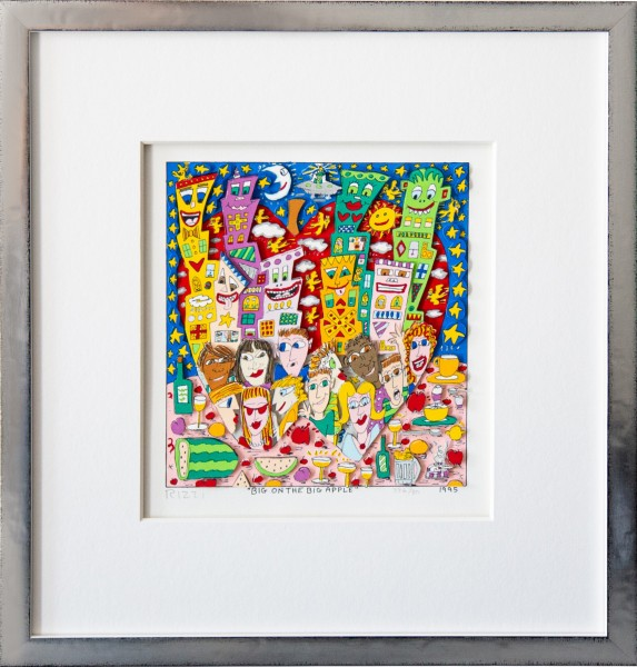BIG ON THE BIG APPLE (1995) - JAMES RIZZI