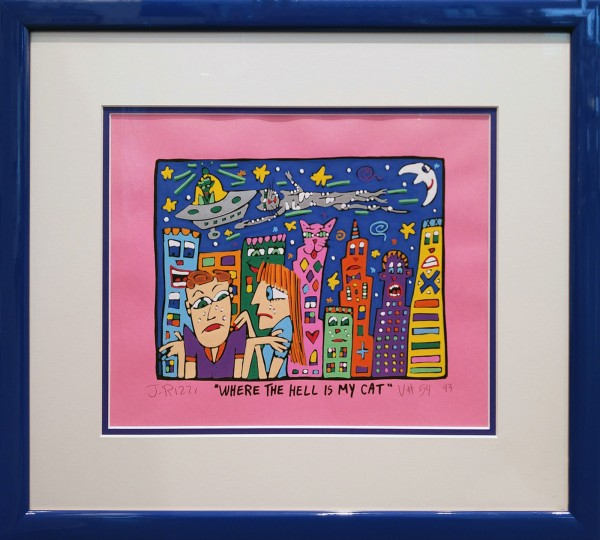 WHERE THE HELL IS MY CAT (1993) - JAMES RIZZI