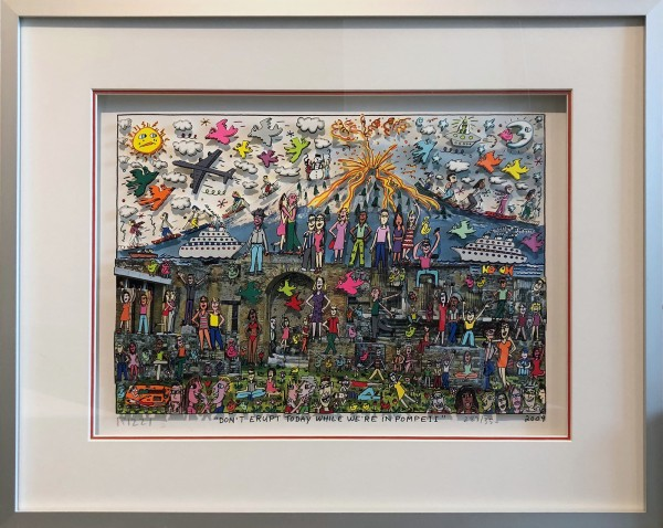 DON'T ERUPT TODAY WHILE WE'RE IN POMPEII (2009) - JAMES RIZZI