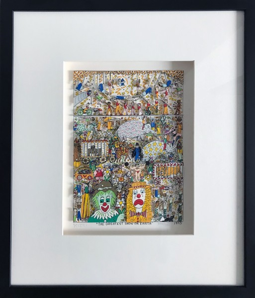 THE GREATEST SHOW ON EARTH (1995) - JAMES RIZZI