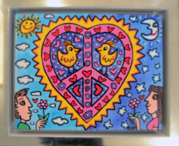 MY LOVE (2014) - James Rizzi