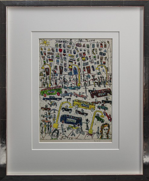 A PLACE IN THE CITY (1975) - JAMES RIZZI