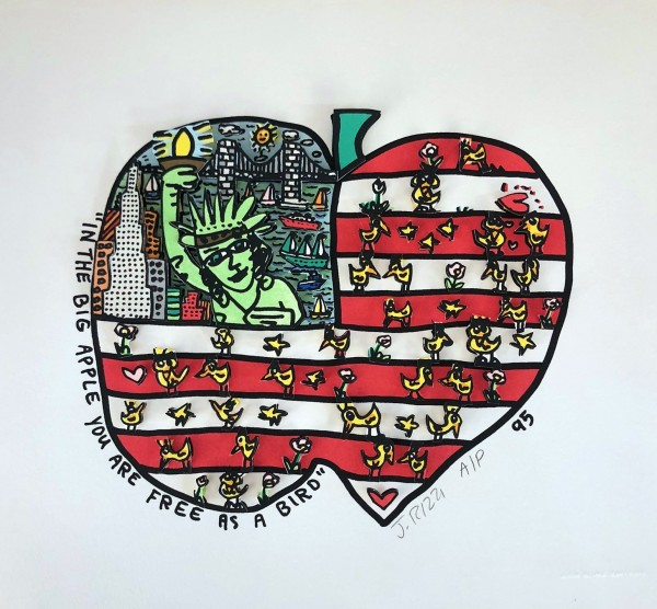 IN THE BIG APPLE YOU ARE FREE AS A BIRD (1995) - JAMES RIZZI