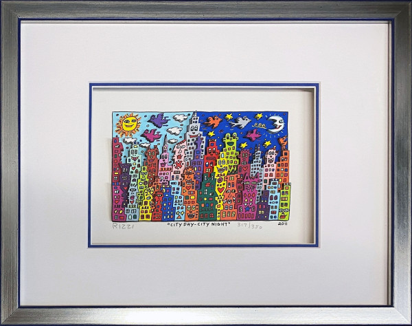 CITY DAY-CITY NIGHT (2011) - JAMES RIZZI