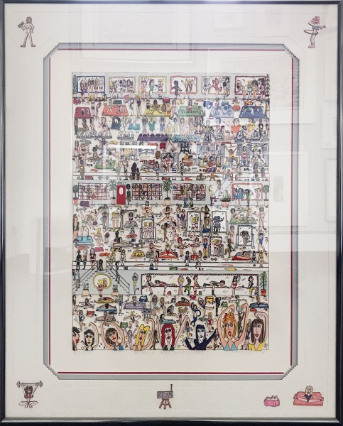 WOMEN WHO WORK OUT (1989) - JAMES RIZZI