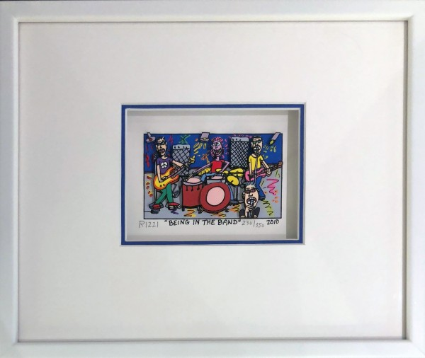 BEING IN THE BAND (2010) - JAMES RIZZI