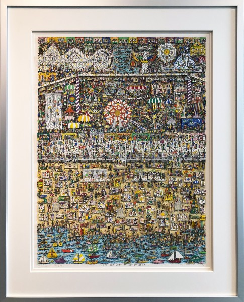 LETS GET LOST AT CONEY ISLAND (1991) - JAMES RIZZI